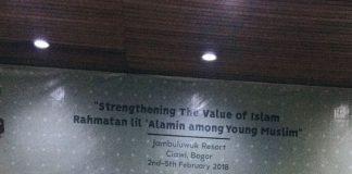 Koordinator Program IYLC 2018 Muhammad Zuhdi, M.Ed saat membuka acara